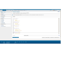 development interface siteforum css-module