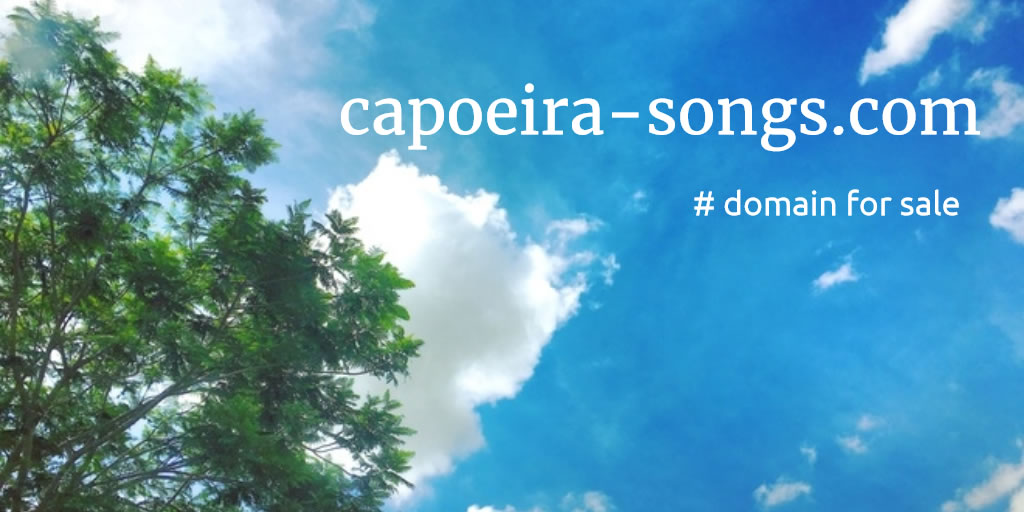 Domain Name for Sale: capoeira-songs.com