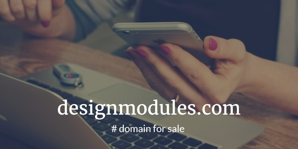 Domain Name for Sale: designmodules.com