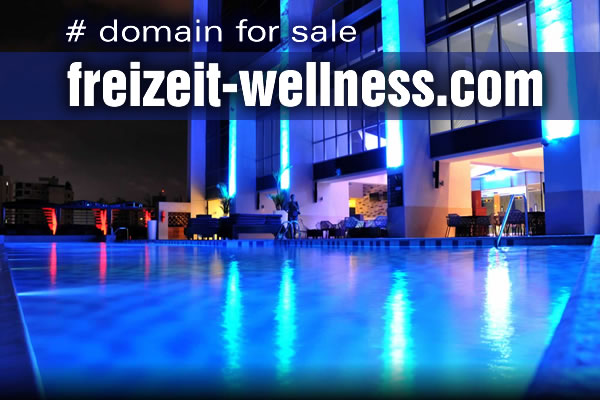 Domain Name for Sale: freizeit-wellness.com