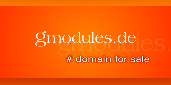 Domain Name for Sale: gmodules.de