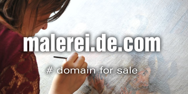 Domain Name for Sale: malerei.de.com