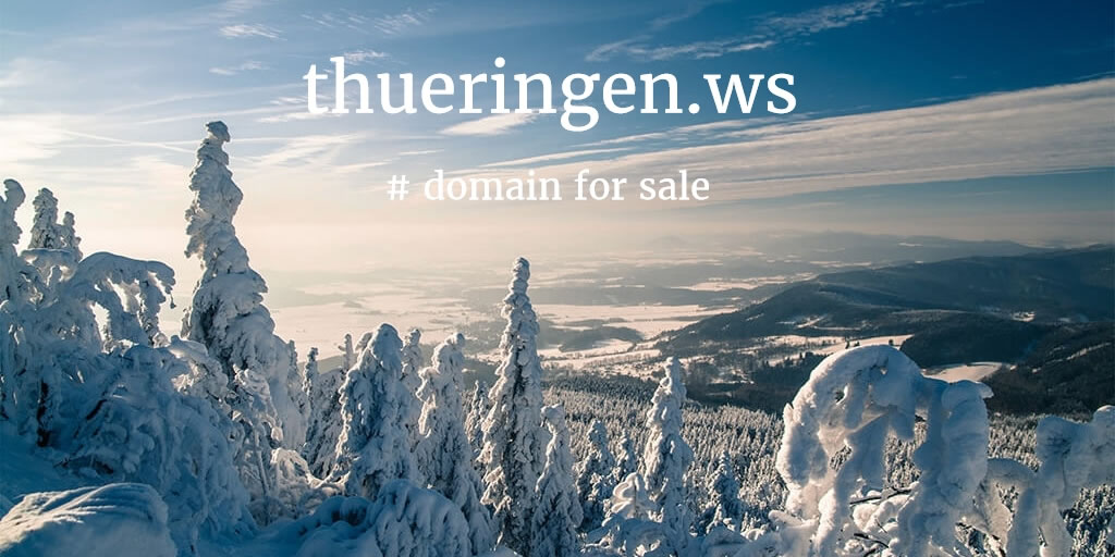 Domain Name for Sale: thueringen.ws